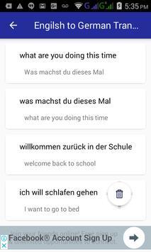English German Translator screenshot 4