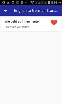 English German Translator screenshot 5