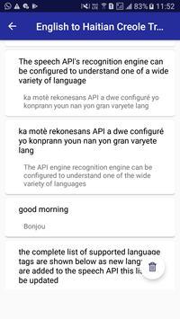 English Haitian Creole Translator screenshot 5