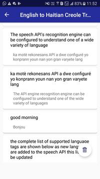English Haitian Creole Translator screenshot 13