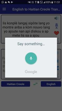 English Haitian Creole Translator screenshot 2