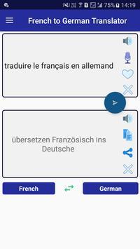 French German Translator poster