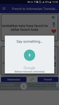 French Indonesian Translator screenshot 2