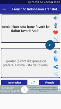 French Indonesian Translator screenshot 3