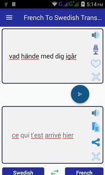 French Swedish Translator screenshot 1