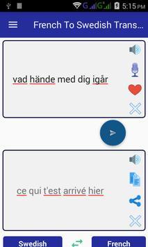 French Swedish Translator screenshot 2
