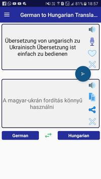 German Hungarian Translator poster