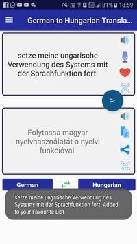 German Hungarian Translator screenshot 11