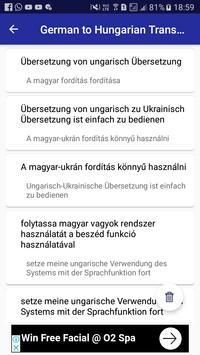 German Hungarian Translator screenshot 13