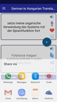 German Hungarian Translator screenshot 15