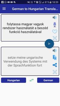 German Hungarian Translator screenshot 1