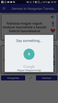German Hungarian Translator screenshot 2