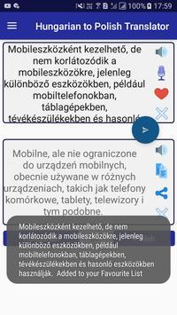 Hungarian Polish Translator screenshot 3