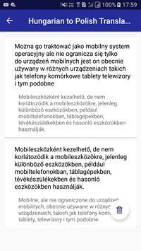 Hungarian Polish Translator screenshot 13