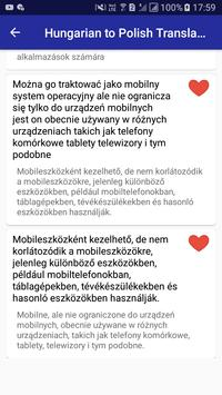 Hungarian Polish Translator screenshot 14