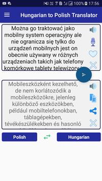Hungarian Polish Translator screenshot 1