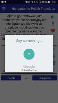 Hungarian Polish Translator screenshot 2