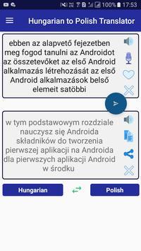 Hungarian Polish Translator screenshot 8
