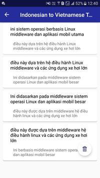 Indonesian Vietnamese Translator screenshot 5