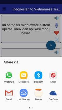 Indonesian Vietnamese Translator screenshot 7