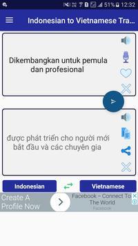 Indonesian Vietnamese Translator poster