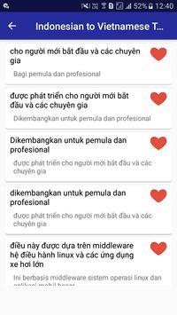 Indonesian Vietnamese Translator screenshot 14