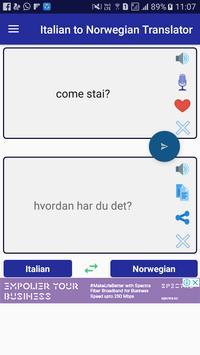 Italian Norwegian Translator apk screenshot