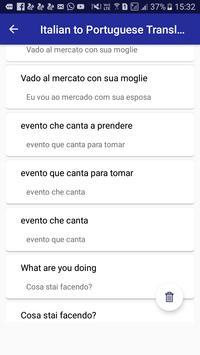 Italian Portuguese Translator screenshot 4