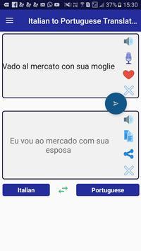 Italian Portuguese Translator screenshot 2