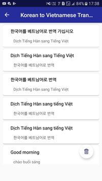 Korean Vietnamese Translator screenshot 4