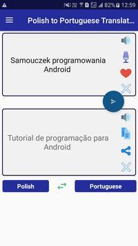 Polish Portuguese Translator screenshot 3