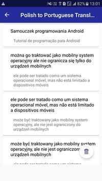 Polish Portuguese Translator screenshot 5