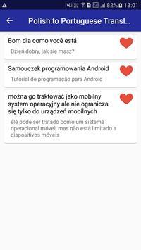 Polish Portuguese Translator screenshot 6