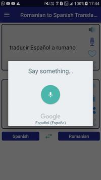 Romanian Spanish Translator screenshot 10