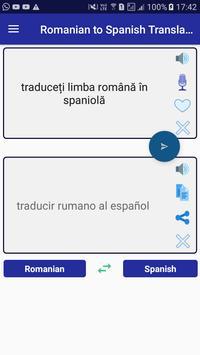 Romanian Spanish Translator screenshot 8