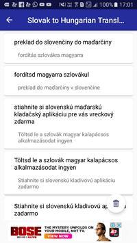 Slovak Hungarian Translator screenshot 4
