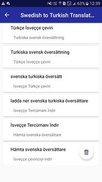 Swedish Turkish Translator screenshot 5