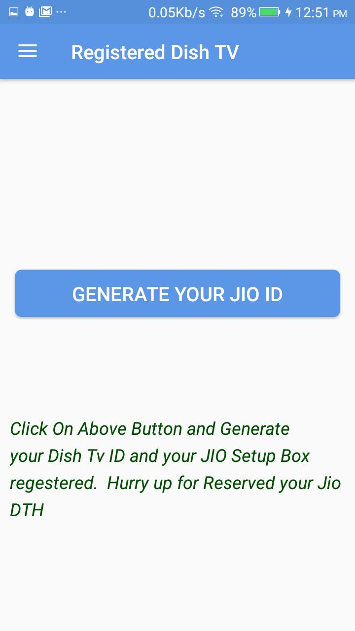 Free Jio DTH Registration 2017 for Android - APK Download