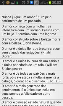 Frases de amor SMS apk screenshot