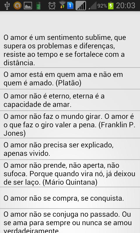 Frases De Amor Sms For Android Apk Download