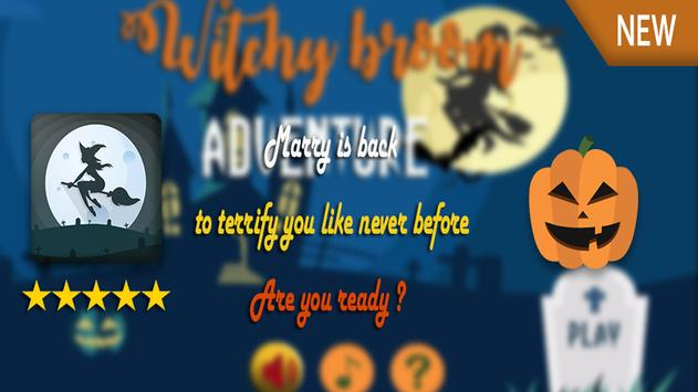 Witchy Broom Adventure poster