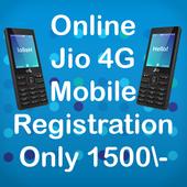 Free Jio 4G Phone Registration : 1500 Rs/- icon