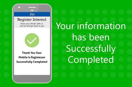 Free Jio 4G Phone Registration : 1500 Rs/- screenshot 3