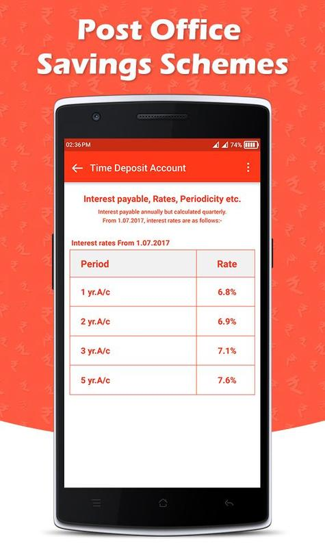 Indian post office savings schemes for android apk download - Post office saving schemes ...