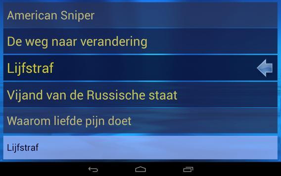 """Gesproken Boeken (""""My Eyes"""") screenshot 3"""