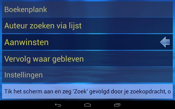 """Gesproken Boeken (""""My Eyes"""") screenshot 2"""