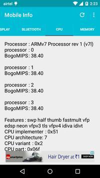 Mobile Information screenshot 4