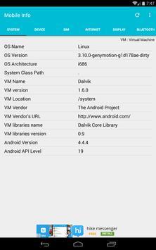 Mobile Information screenshot 6