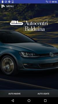 Autocentri Balduina poster
