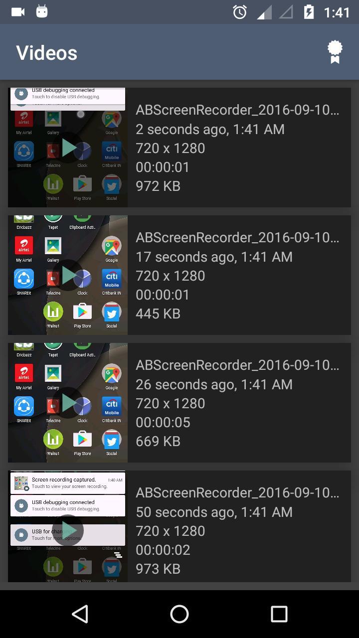 AB Screen Recorder Premium v2.8 Cracked APK [Latest] 2